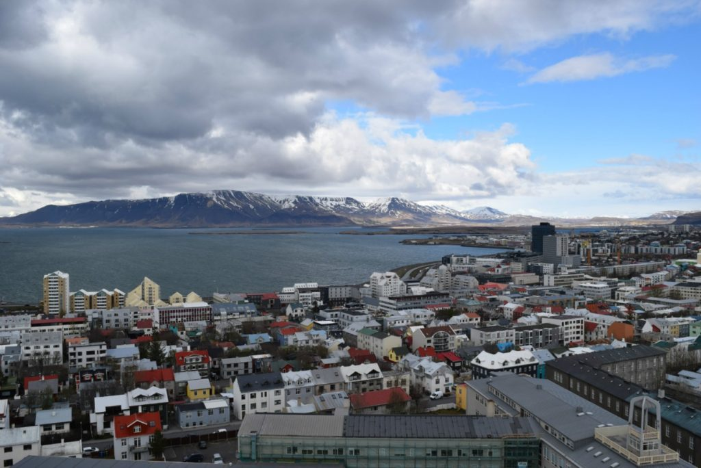 Head over to Hallgrimskirkja Church for fantastic and affordable views of the city.