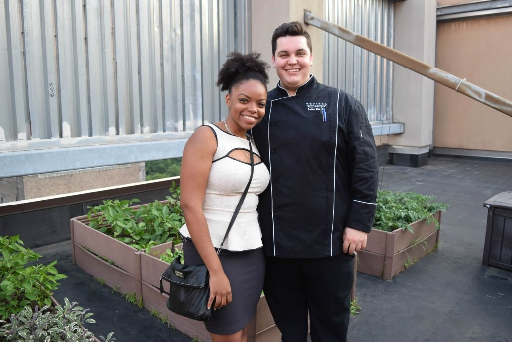Tour of Sofitel's Rooftop Garden with Chef Luke Rogers