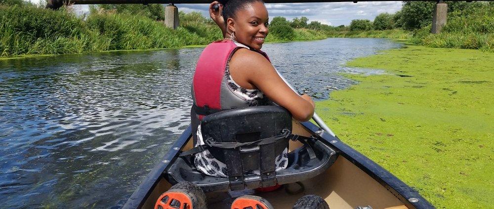 Canoeing England with Canoe2 in Northamptonshire, England.