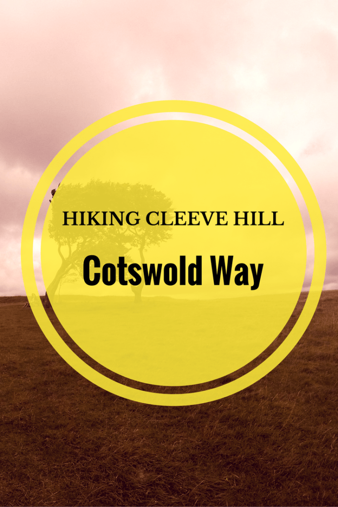 Views from one of England's finest countryside vantage points. Hiking Cleeve Hill in Cheltenham.
