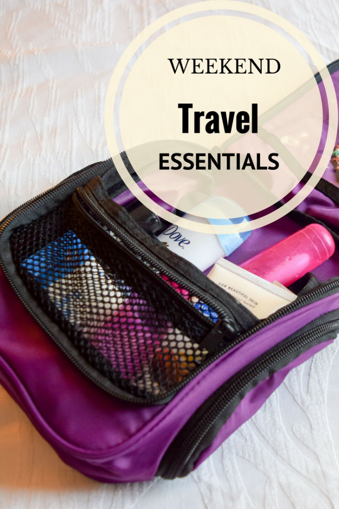 6 Travel essentials to keep organized on weekend trips.