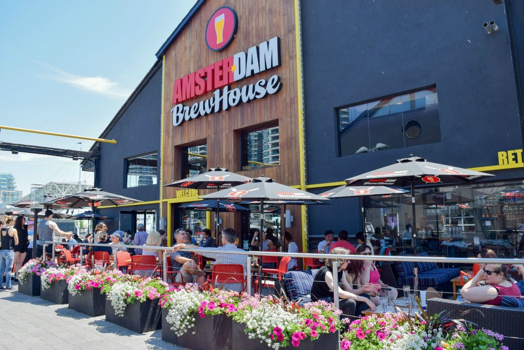 Toronto Craft Beer at Amsterdam BrewHouse in Toronto