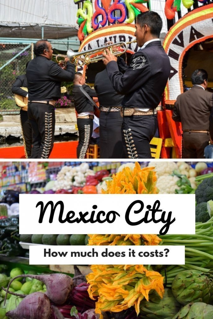 How much does a trip to Mexico City cost?
