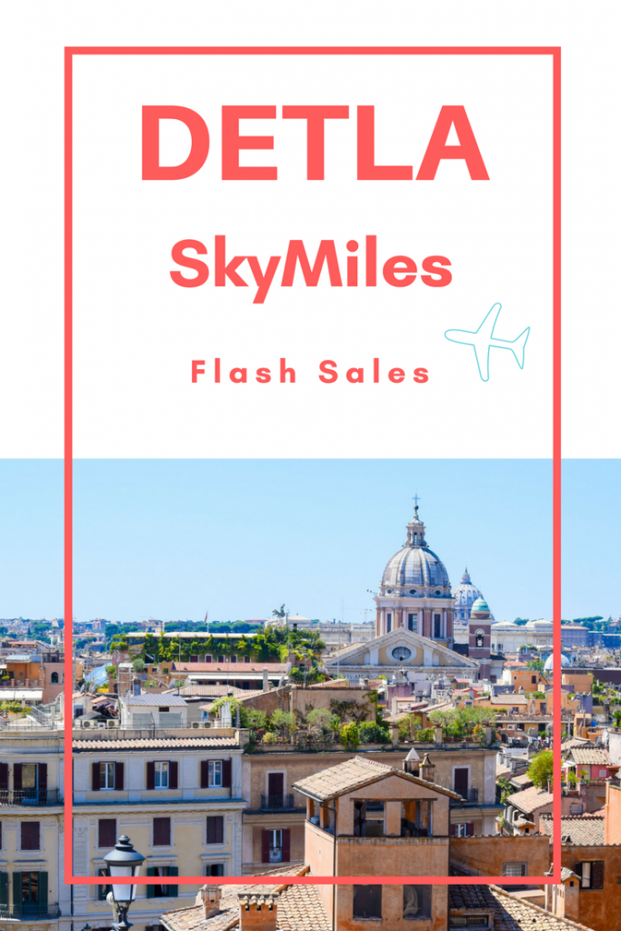 Delta SkyMiles Flash Sales explained