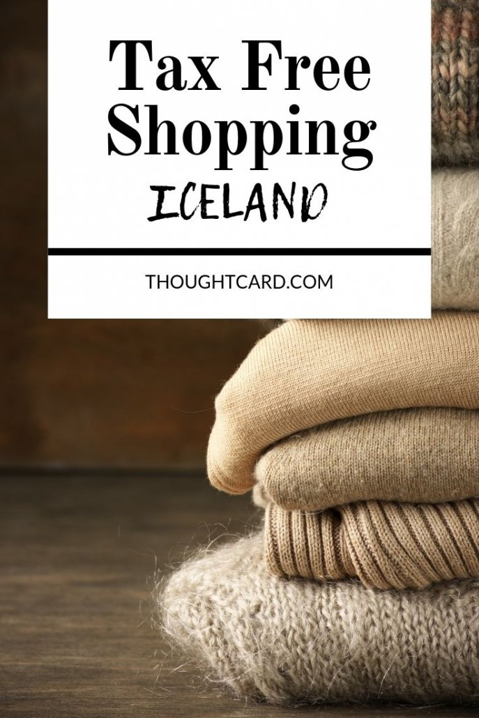 Tips for shopping tax free in Iceland.