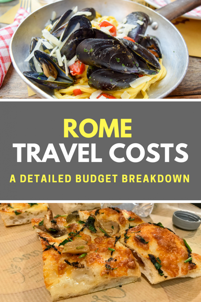 How much does a trip to Rome cost?