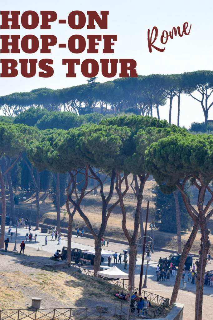 Only spending a few days in Rome? Things to see on the hop-on, hop off Big Bus Rome sightseeing bus tour in Rome, Italy.