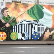 Belfast Wall Murals from the Belfast Black Taxi Tour in West Welfast