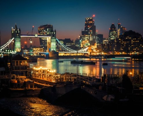 Places To Admire the London Skyline