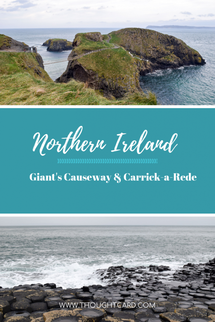 Giant's Causeway and Carrick-a-Rede Northern Ireland