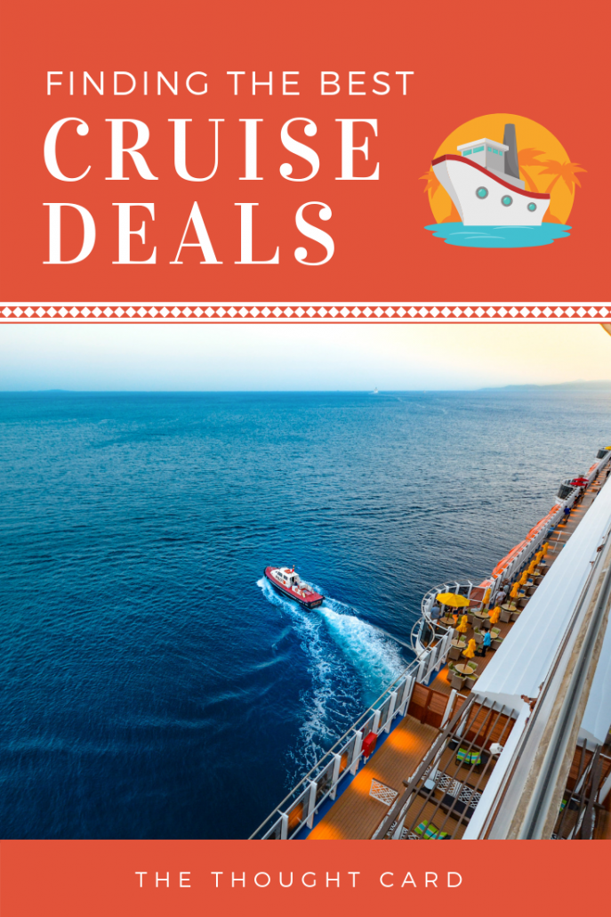 How to find the best cruise deals