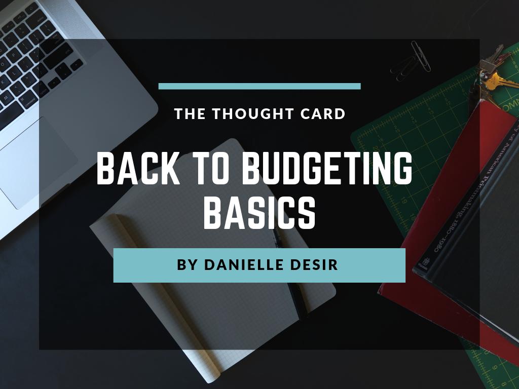 Back to Budgeting Basics Course