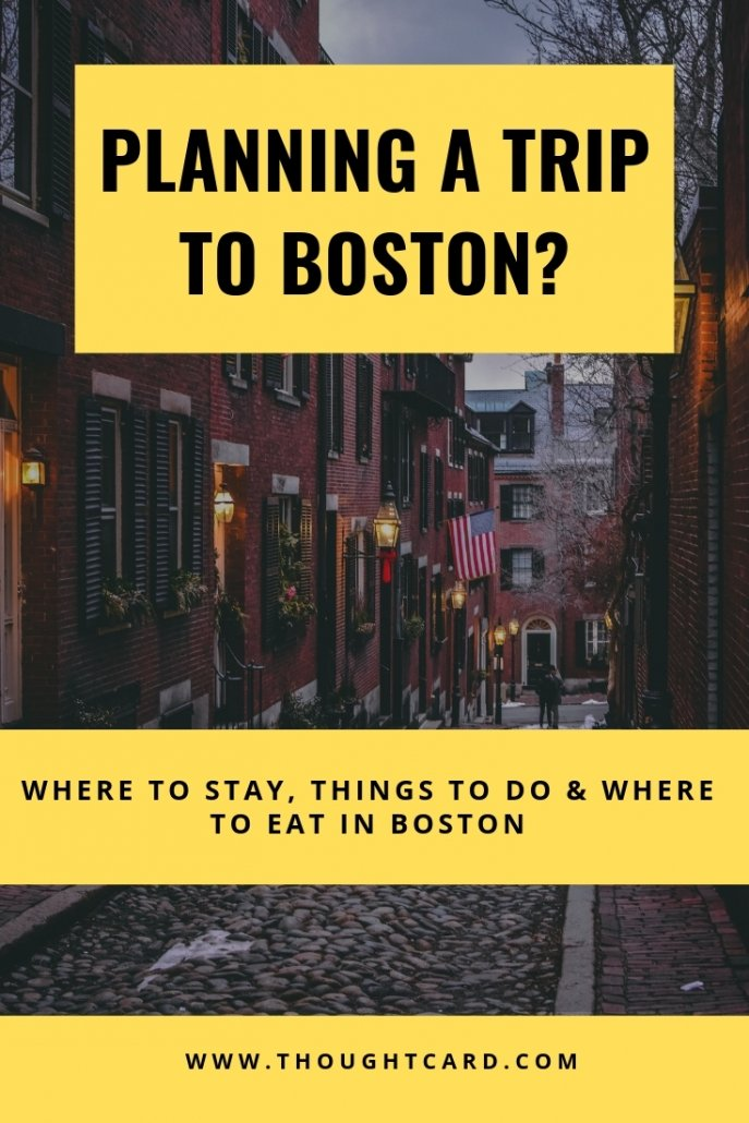 Boston Travel Guide: Tips for Visiting Boston