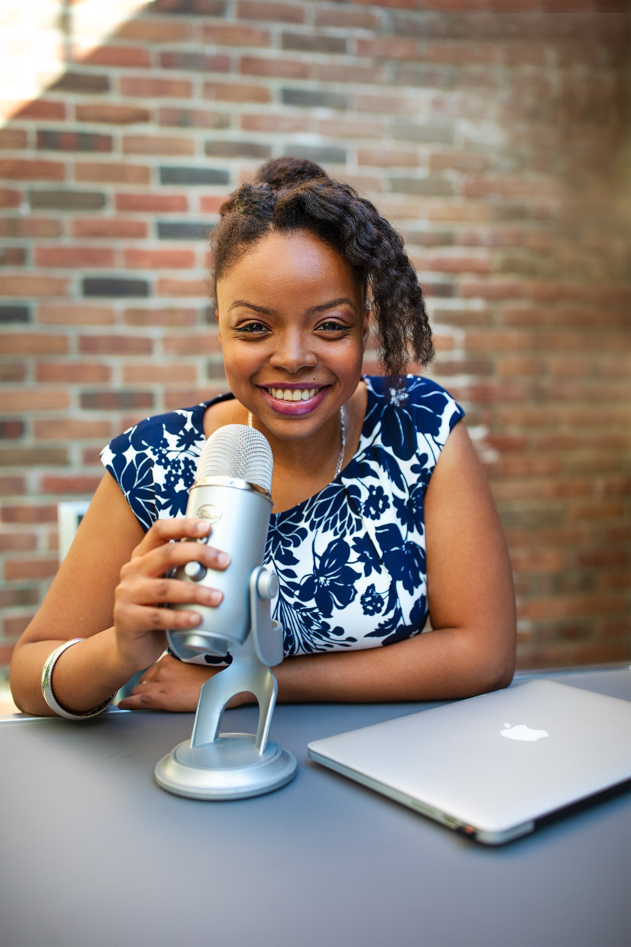 Danielle Desir is the Founder of WOC Podcasters and Host of The Thought Card
