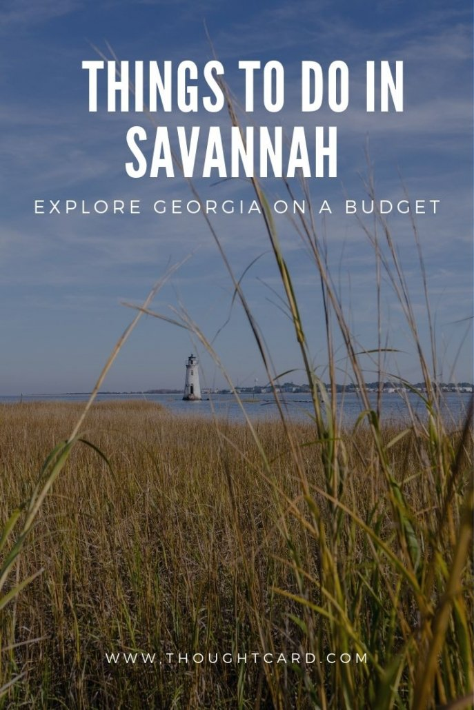 Affordable Things to Do in Savannah on a budget.