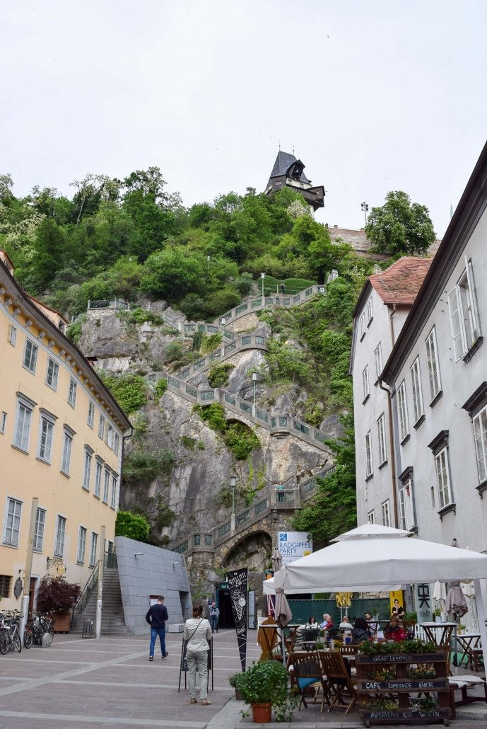 Schlossberg - Free things to do in Graz Austria
