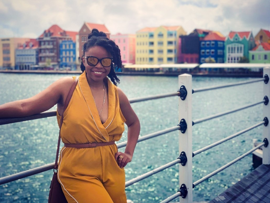 How much does a trip to Curaçao cost? Danielle Desir vacationing in Curaçao.