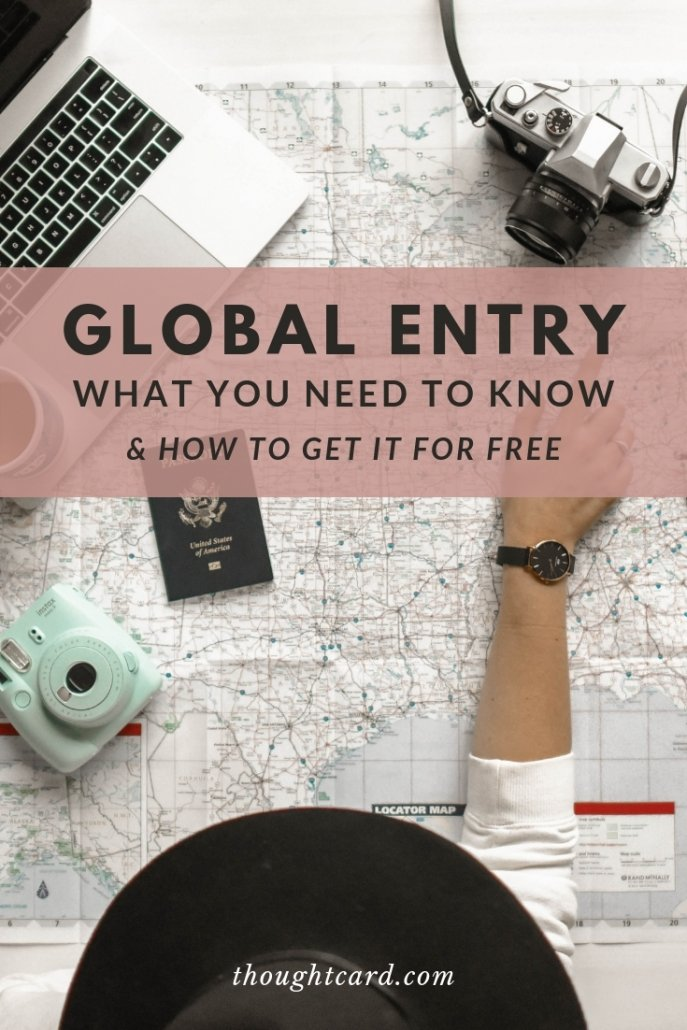 What is global entry and how to get it for free.