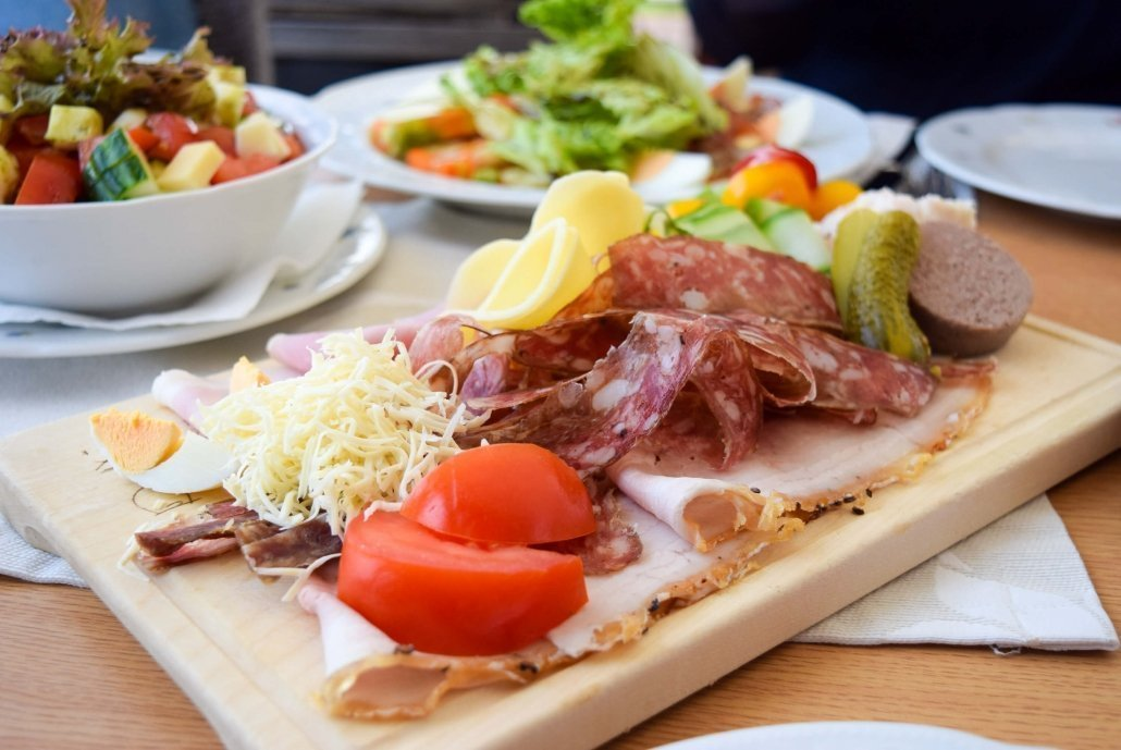 Traditional Austrian Food in South Styria