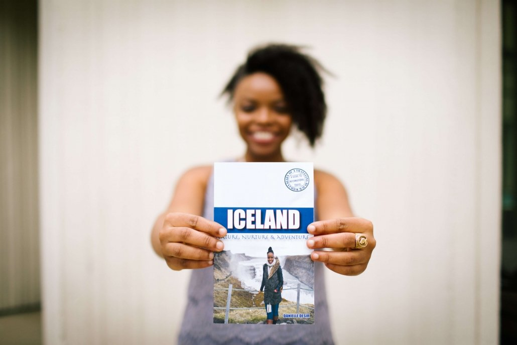 Iceland travel guide book for black women by Danielle Desir