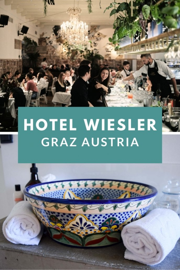 Where to stay in Graz? Grand Hotel Wiesler Graz combines old and new design.