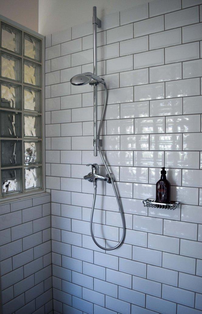 Ensuite bathrooms at Hotel Wiesler