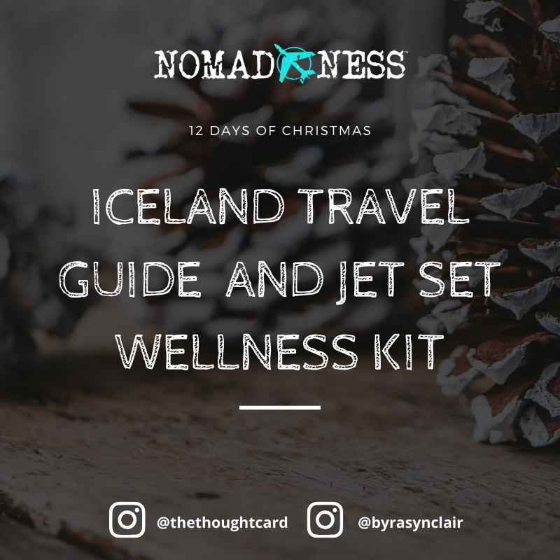 Iceland travel giveaway with Nomadness Tribe 12 Days of Christmas Giveaway 2019
