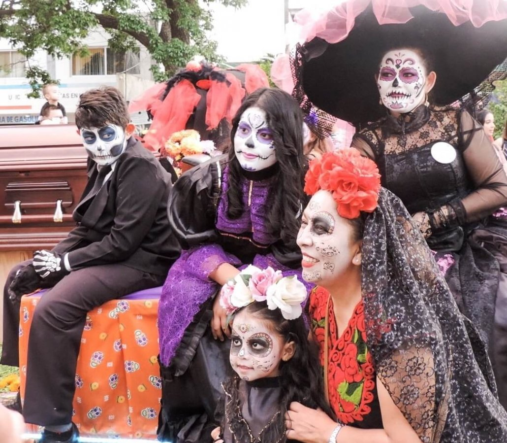 Day of the Dead is a great time to visit Guadalajara in Mexico.