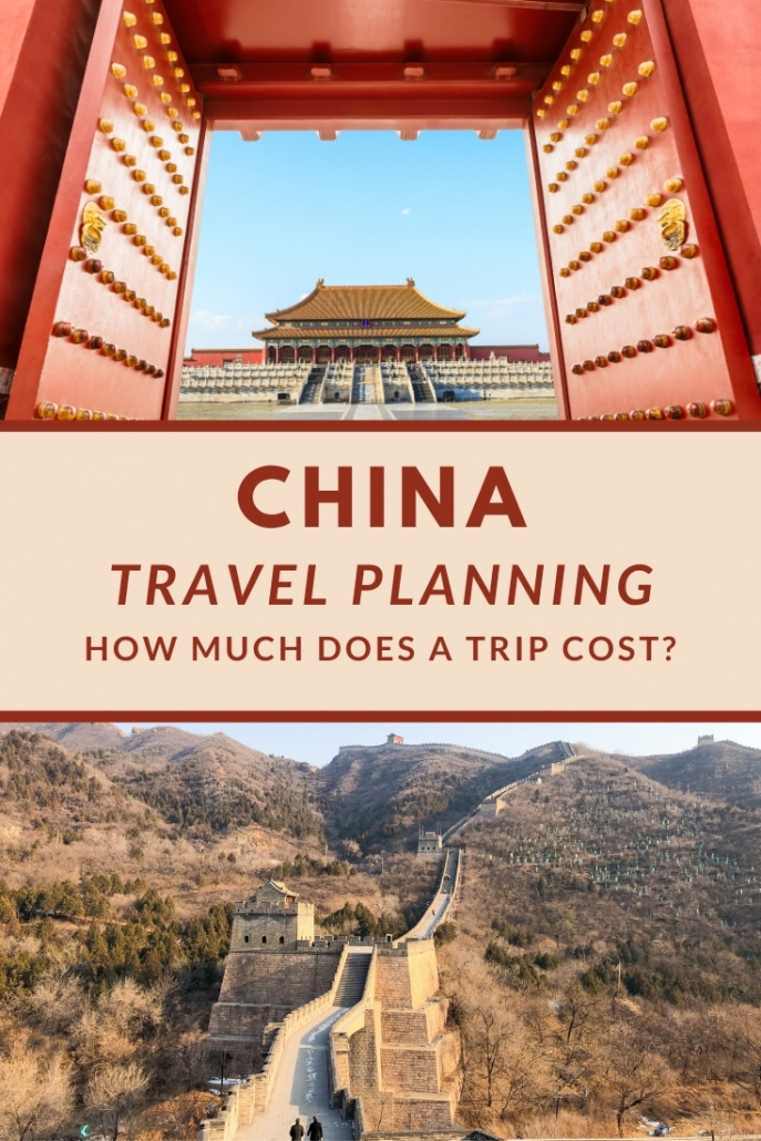 How much money do I need in China?