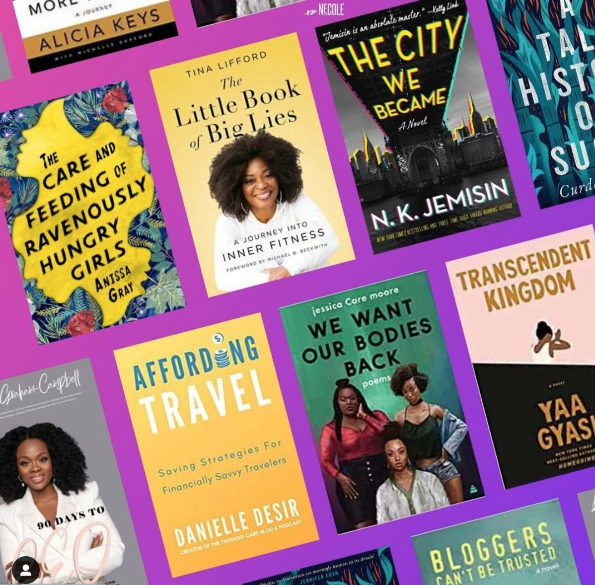 Affording Travel featured on xoNecole.com's summer reading list by Black authors.