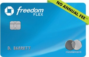 Chase Freedom Flex - Best No Fee Credit Cards