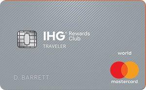 IHG Rewards Club Credit Card - No annual fee credit card.