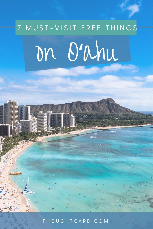 Free things to do in Oahu Hawaii
